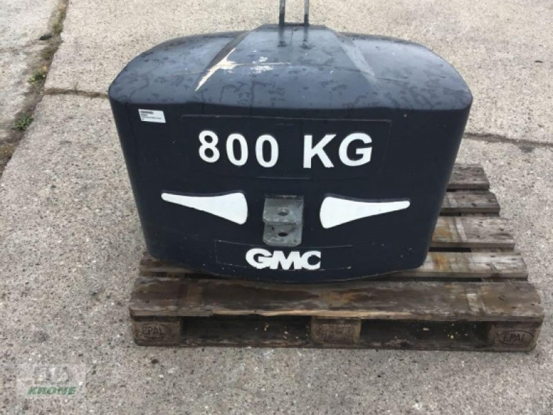 Sonstiges Traktorzubehör des Typs Sonstige GMC 800 KG, Gebrauchtmaschine in Alt-Mölln (Bild 1)