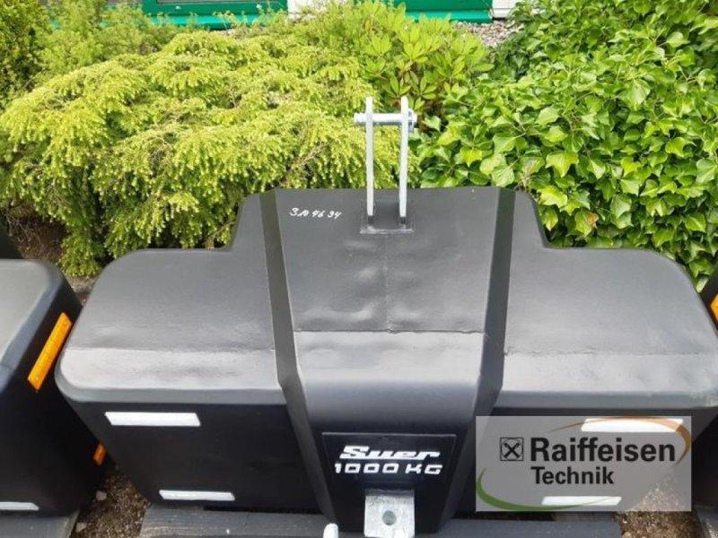 Sonstiges Traktorzubehör des Typs Suer Frontballast SB 1000 KG, Neumaschine in Gnutz (Bild 2)