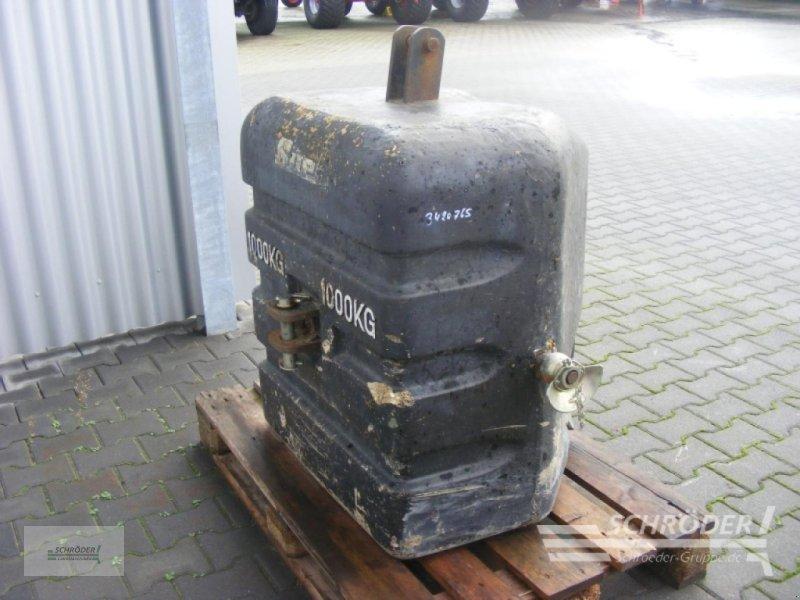 Sonstiges Traktorzubehör типа Suer Frontgewicht 1000 kg, Gebrauchtmaschine в Lastrup (Фотография 1)