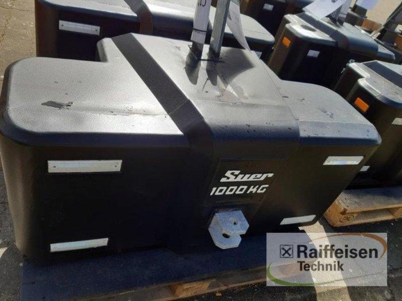 Sonstiges Traktorzubehör des Typs Suer Stahlbetongewicht SB 1000, Gebrauchtmaschine in Husum (Bild 1)