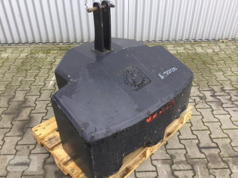 Sonstiges Traktorzubehör типа Zuidberg Frontgewicht 800 kg, Gebrauchtmaschine в Westerstede (Фотография 1)