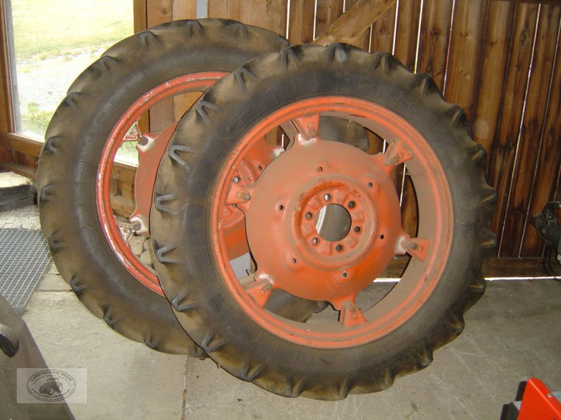Sonstiges a típus Deutz-Fahr 2x Kompletträder mit Bereifung 12.4-36, Gebrauchtmaschine ekkor: Tschirn (Kép 1)