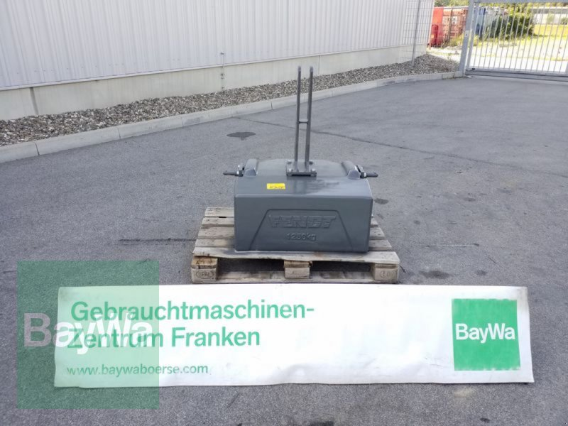Sonstiges του τύπου Fendt GEWICHT 1250 KG, Gebrauchtmaschine σε Bamberg (Φωτογραφία 1)