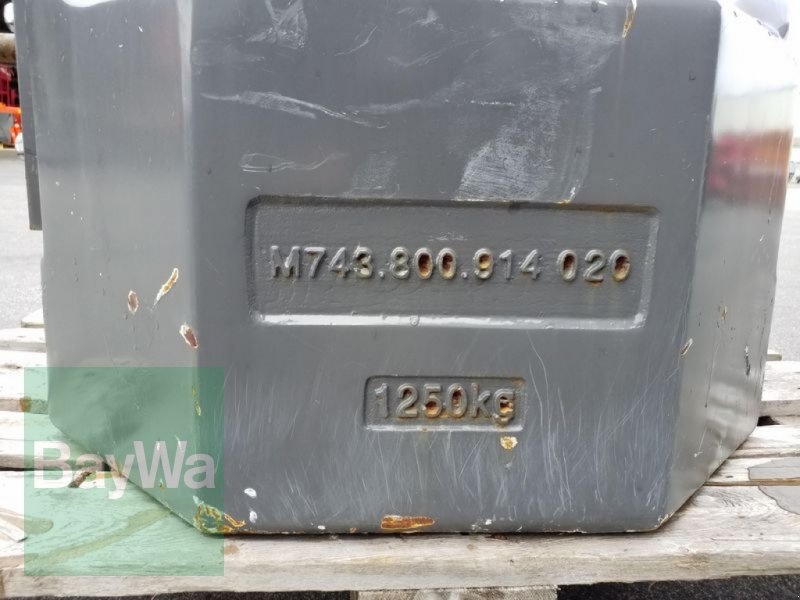 Sonstiges des Typs Fendt GEWICHT 1250 KG, Gebrauchtmaschine in Ergersheim (Bild 6)