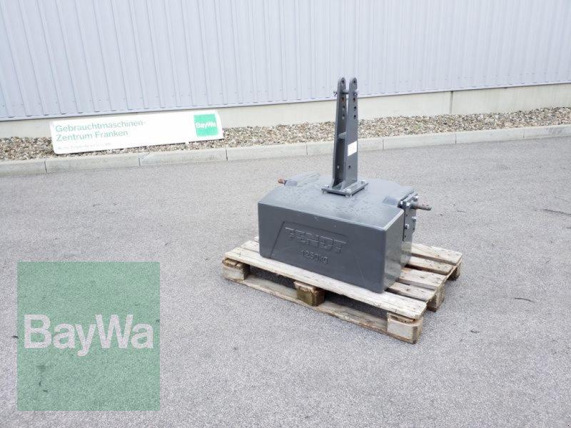 Sonstiges des Typs Fendt GEWICHT 1250 KG, Gebrauchtmaschine in Ergersheim (Bild 1)
