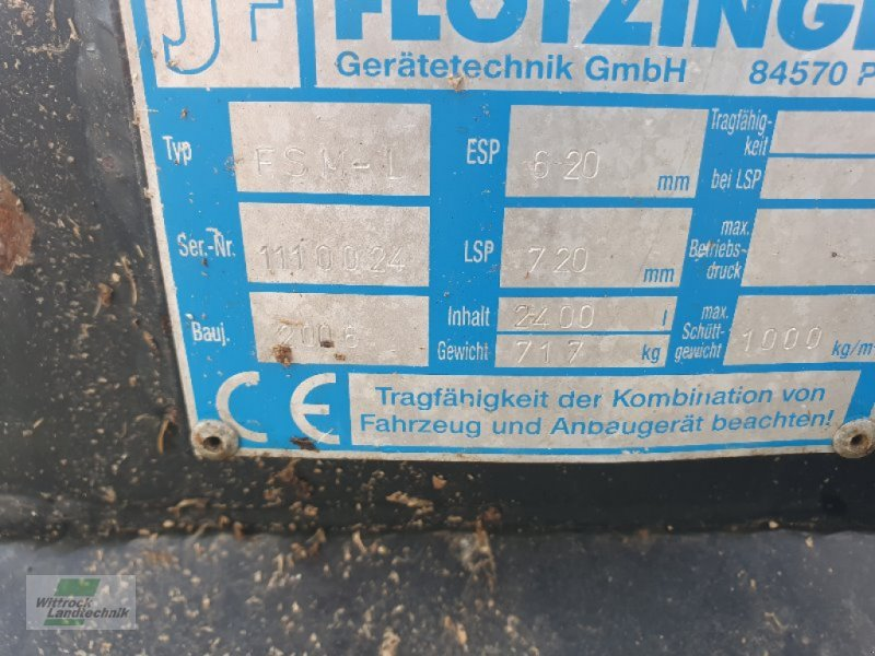 Sonstiges du type Flötzinger FSM-I, Gebrauchtmaschine en Rhede / Brual (Photo 7)