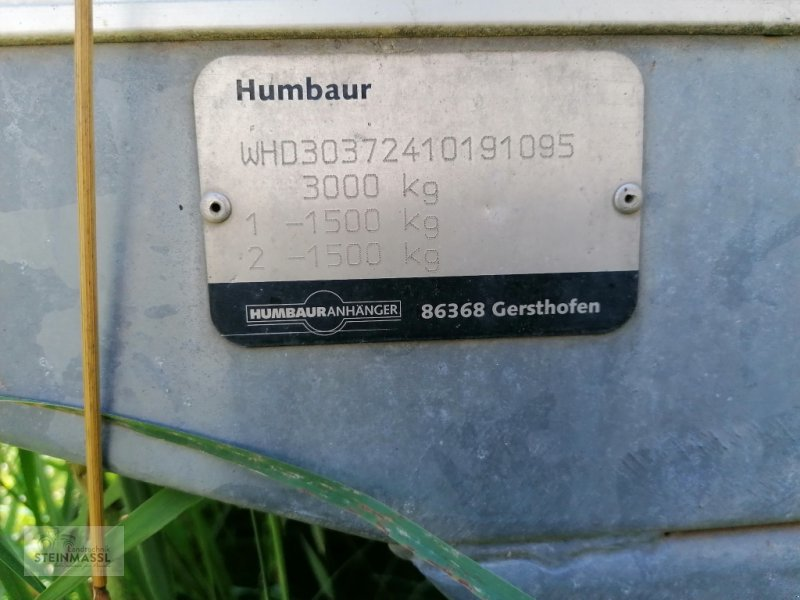 Sonstiges of the type Humbaur WHD, Gebrauchtmaschine in Petting (Picture 4)