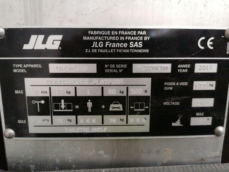 Sonstiges des Typs JLG TOUCAN DUO, Gebrauchtmaschine in senlis (Bild 10)
