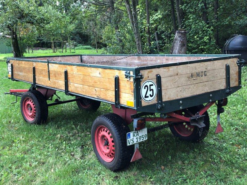 Sonstiges типа Kopf Landwirtschaftlicher Anhänger, Gebrauchtmaschine в Bühl (Фотография 2)