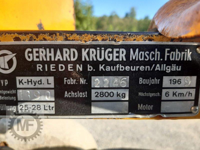 Sonstiges des Typs Krüger K-Hyd.L, Gebrauchtmaschine in Huglfing (Bild 8)