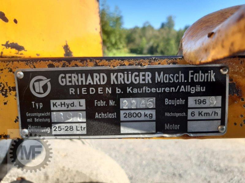 Sonstiges des Typs Krüger K-Hyd.L, Gebrauchtmaschine in Huglfing (Bild 9)