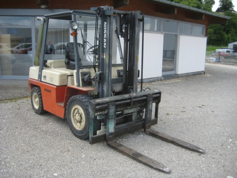 Sonstiges a típus Nissan Gabelstapler 4,0 to, Gebrauchtmaschine ekkor: Herbrechtingen (Kép 1)