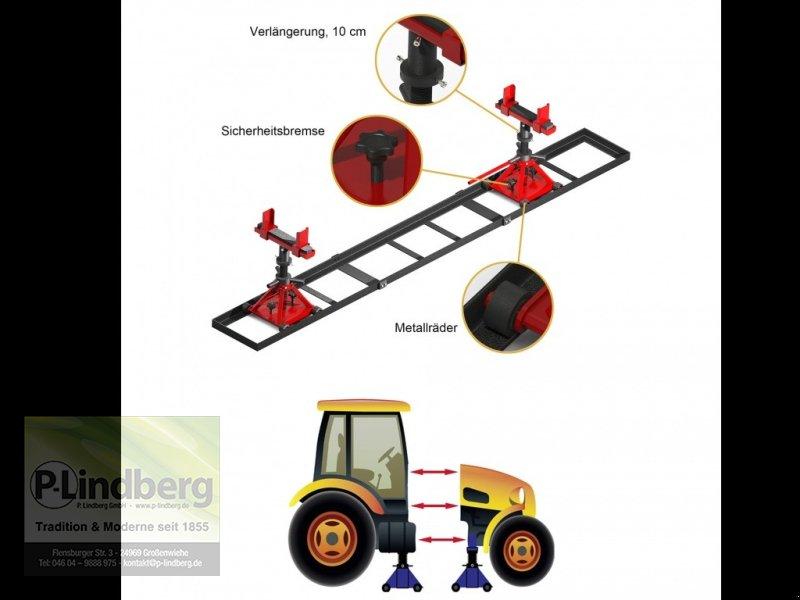 Sonstiges des Typs P.Lindberg GmbH Trennvorrichtung f.Traktor Traglast Max.5 Tonnen jeStuetzbock-Schienenlaenge-3m, Neumaschine in Großenwiehe (Bild 1)