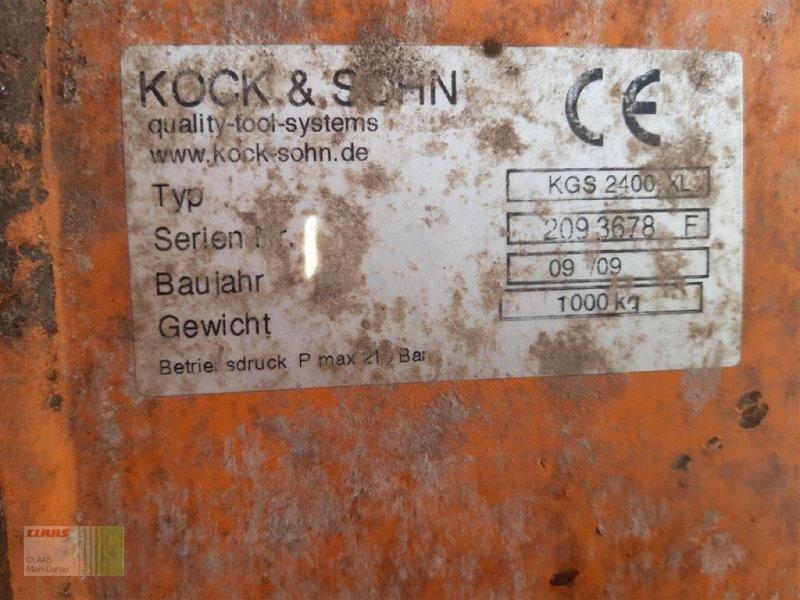 Sonstiges des Typs Sonstige KGS 2400 XL Silagegreifschauf., Gebrauchtmaschine in Aurach (Bild 7)