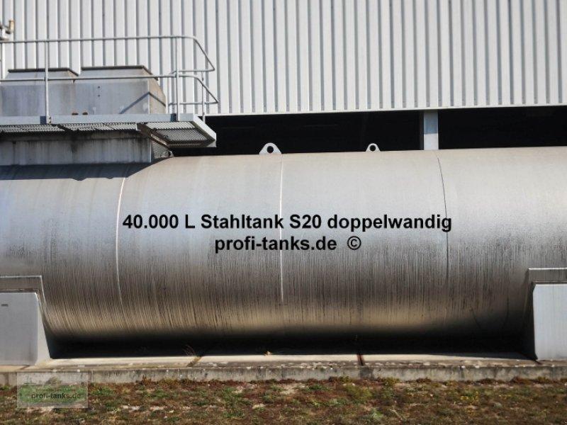 Sonstiges des Typs Sonstige S20 gebrauchter 40.000 L Stahltank doppelwandig innen beschichtet Glykoltank Wassertank inkl. 2 Sattelfüße Fertigdomschacht Geländer und Leiter, Gebrauchtmaschine in Schüttorf (Bild 3)