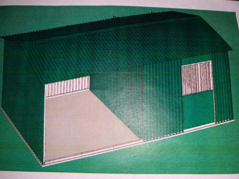 Sonstiges a típus Sonstige Unterstand Pferde Stall Box Landwirtschaft, Gebrauchtmaschine ekkor: Rodeberg OT Eigenrieden (Kép 1)