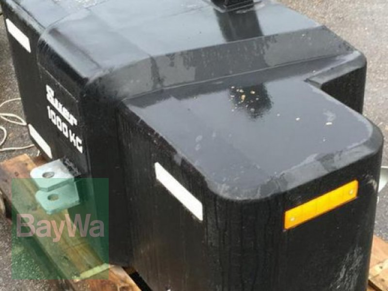 Sonstiges des Typs Suer Frontgewicht  1000 kg, Gebrauchtmaschine in Nabburg (Bild 1)