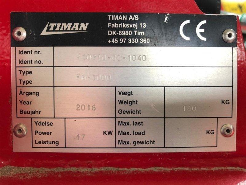 Sonstiges типа Timan RC 1000 m/slagleklipper og stubfræser, Gebrauchtmaschine в Sakskøbing (Фотография 5)