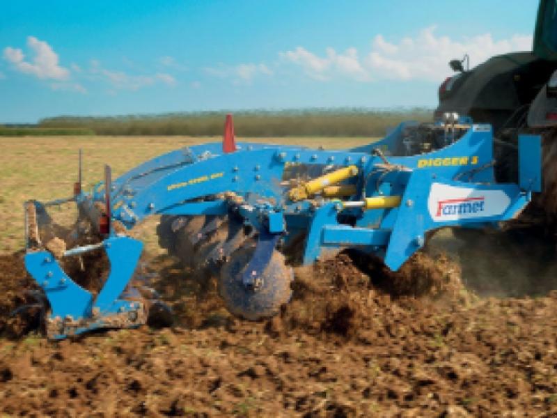 Spatenpflug типа Farmet Digger 4, Gebrauchtmaschine в Не обрано (Фотография 1)
