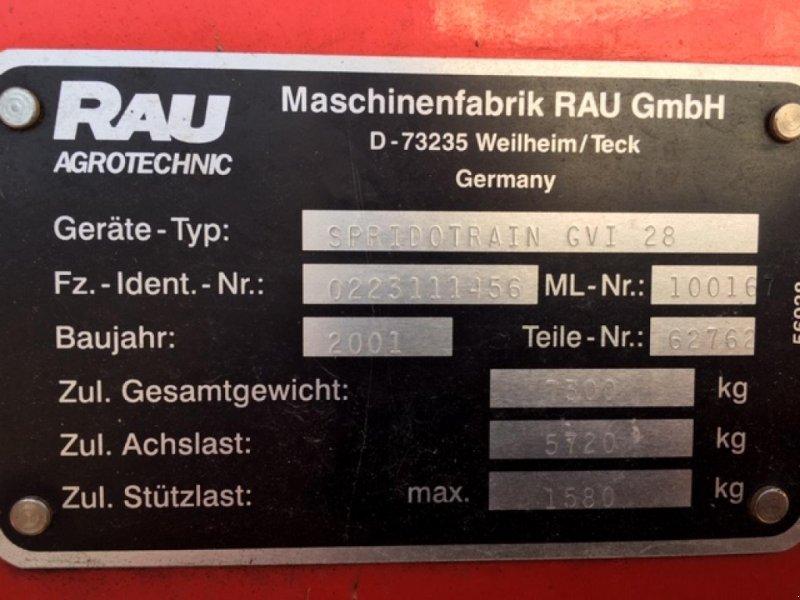 Sprühgerät типа Rau Spridotrain GVI 28, Gebrauchtmaschine в Schopfloch (Фотография 4)