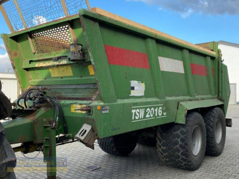 Stalldungstreuer des Typs Bergmann TSW 2016 S, Gebrauchtmaschine in Rhaunen (Bild 1)
