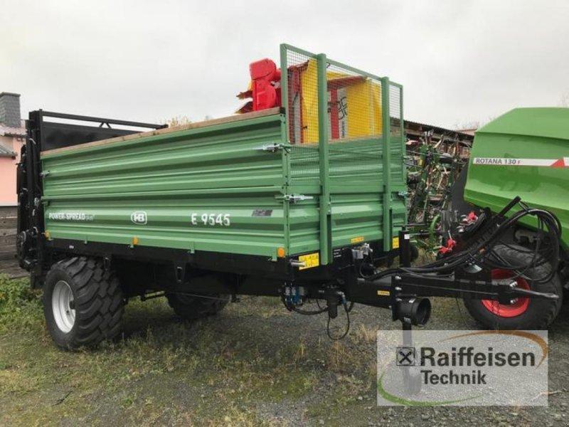 Stalldungstreuer des Typs Brantner E 9545 Power-Spread plus+, Gebrauchtmaschine in Linsengericht - Altenhaßlau (Bild 1)