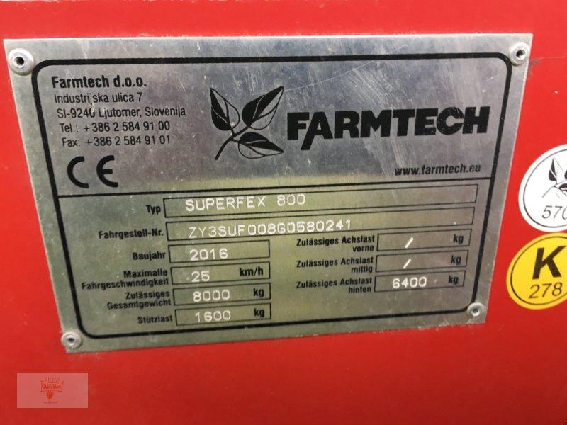 Stalldungstreuer a típus Farmtech Superfex 800, Gebrauchtmaschine ekkor: Remchingen (Kép 4)