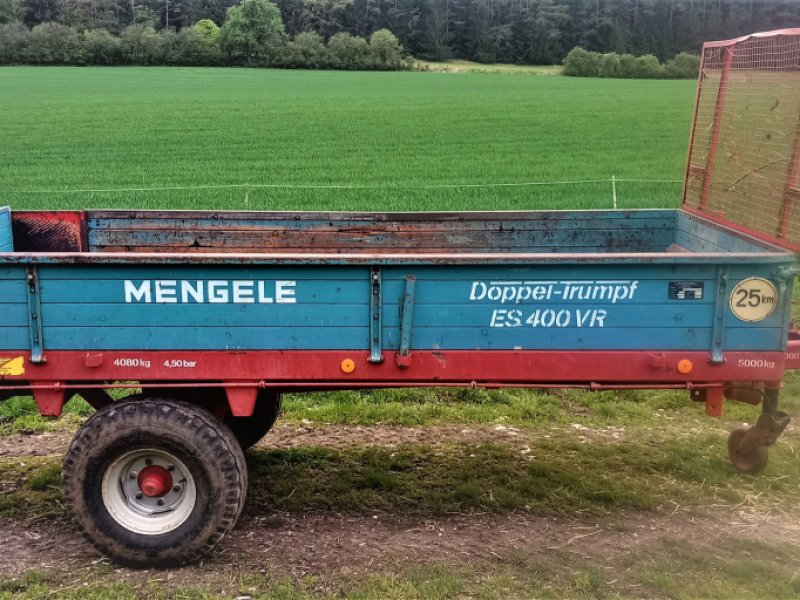 Stalldungstreuer типа Mengele ES 400 VR, Gebrauchtmaschine в Burglengenfeld (Фотография 1)