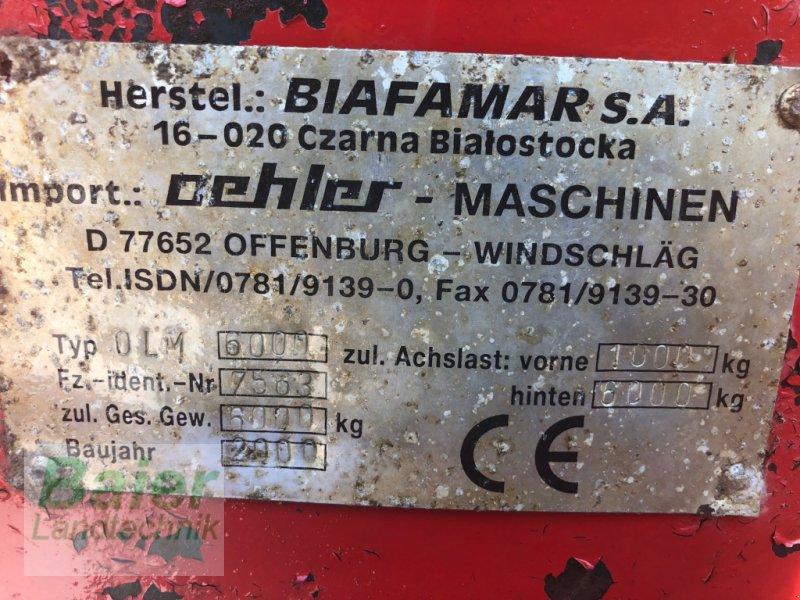 Stalldungstreuer типа Oehler OLM 6000, Gebrauchtmaschine в Hochmössingen (Фотография 6)