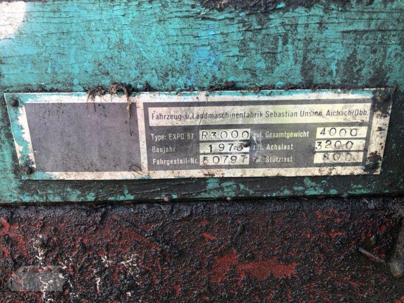 Stalldungstreuer des Typs Unsinn Record 3000, Gebrauchtmaschine in Schwandorf (Bild 3)