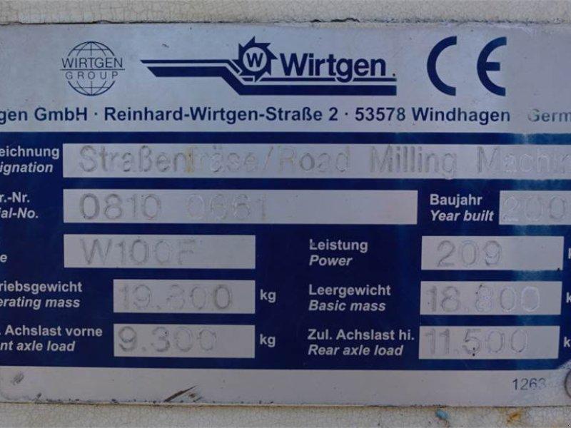 Straßenfräse tip Wirtgen W 100 F Asphaltfräse, Gebrauchtmaschine in Schrobenhausen (Poză 9)