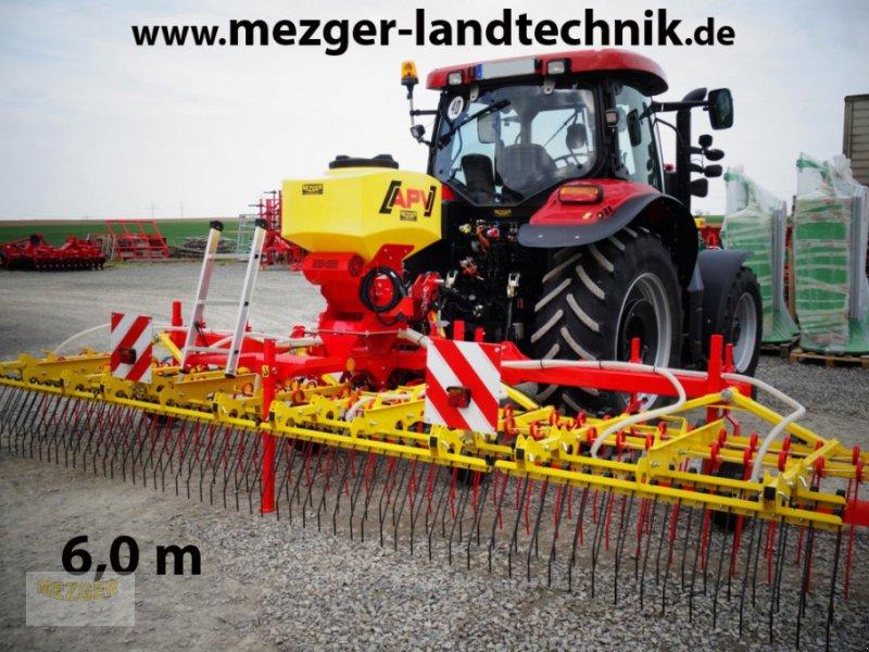 Striegel mit Nachsaateinrichtung des Typs APV Grünlandstriegel GS 600 (Full Edition), Neumaschine in Ditzingen (Bild 1)
