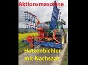 Hatzenbichler Air 8 -  NEU - 6 Meter mit Nachsaat - Neue Model PVC Behälter - Computer Striegel mit Nachsaateinrichtung