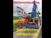 Hatzenbichler Air 8 - NEU - 6 Meter mit Nachsaat - Neue Model PVC Behälter - Computer Pieptene cu dispozitiv de semănare