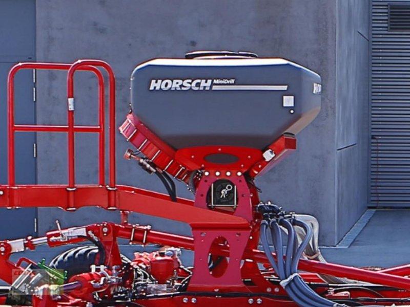 Striegel mit Nachsaateinrichtung tip Horsch MiniDrill 6 m / 400 L., hydr. Gebläse, ISOBUS, Feinsaat, Grobsaat, Zwischenfrüchte, Greening, NEU !, Neumaschine in Westerstede (Poză 1)