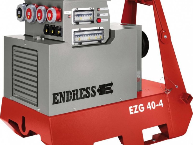 Stromerzeuger des Typs Endress EZG 40/4 II/TN-S, Neumaschine in Windorf (Bild 1)
