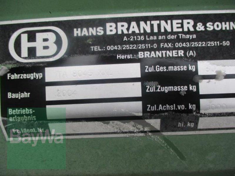 Tandemkipper typu Brantner 8045 XXL   #498, Gebrauchtmaschine v Schönau b.Tuntenhausen (Obrázok 12)