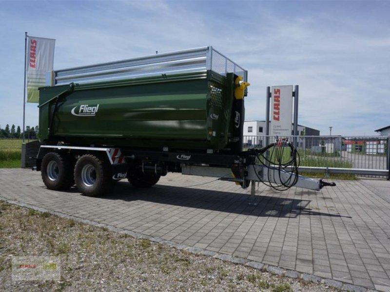 Tandemkipper des Typs Fliegl Mulde für Hakenlift 565, Neumaschine in Töging am Inn (Bild 1)