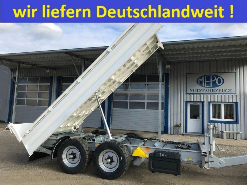 Tandemkipper des Typs Fliegl NEUE KIPPER BREITREIFEN VERZINKT 80km/h, Neumaschine in Großkarolinenfeld bei Rosenheim / B15 (Bild 1)