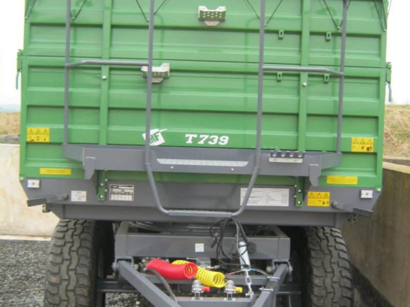 Tandemkipper des Typs Metal-Fach T 730, Neumaschine in Weißenstadt (Bild 9)