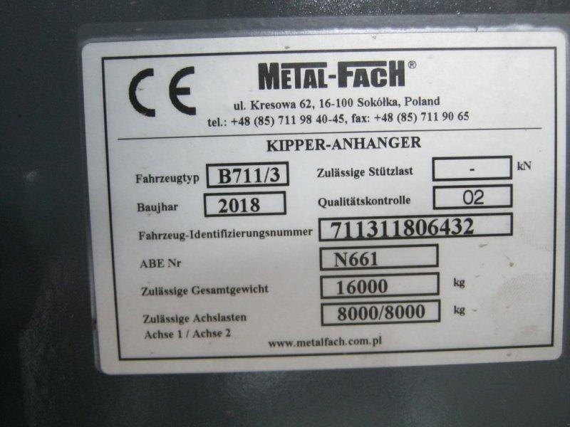 Tandemkipper des Typs Metal-Fach T 730, Neumaschine in Weißenstadt (Bild 19)