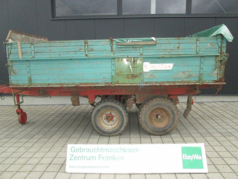 Tandemkipper des Typs Unsinn Tandem 8 Tonnen Kipper, Gebrauchtmaschine in Wülfershausen an der Saale (Bild 1)