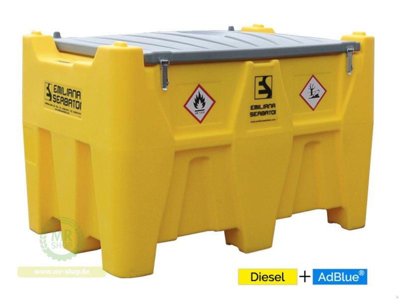 Tankanlage des Typs Emiliana Serbatoi Carrytank Mobile Tankstelle Diesel + AdBlue® Kombitank 400+50 Liter, Neumaschine in Saerbeck (Bild 1)