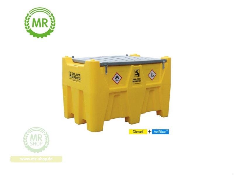 Emiliana Serbatoi Carrytank Mobile Tankstelle Diesel + AdBlue® Kombitank 400+50l Tankanlage