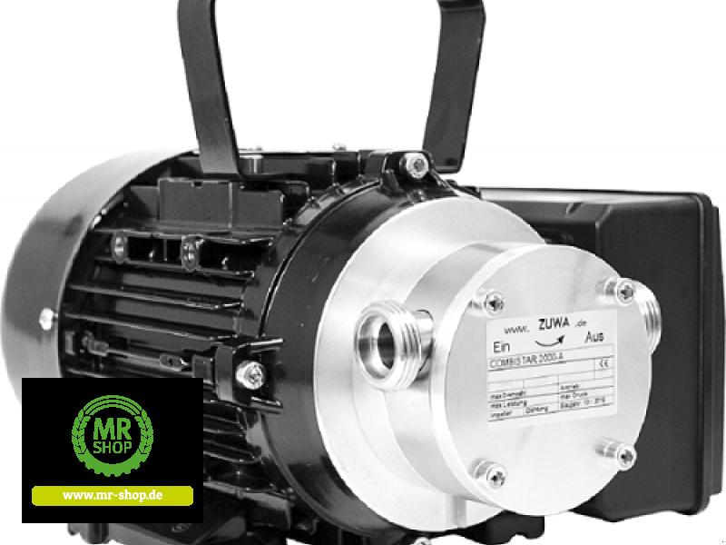 Tankanlage a típus Zuwa COMBISTAR 2000_A, 1.400, 230 V mit Motor, Kabel und Stecker, Neumaschine ekkor: Saerbeck (Kép 1)