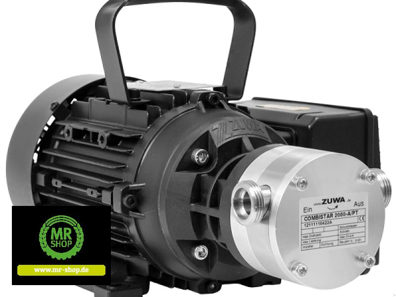 Tankanlage a típus Zuwa COMBISTAR 2000-A/PT, 1.400, 400 V mit Motor, Kabel und Stecker, Neumaschine ekkor: Saerbeck (Kép 1)