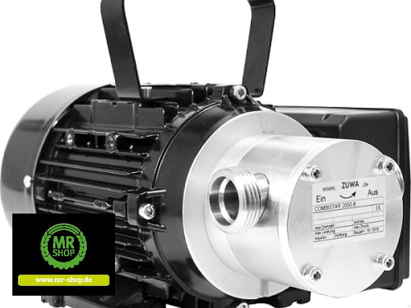 Tankanlage a típus Zuwa COMBISTAR 2000_B, 1.400 min-1, 230V-Motor, Kabel und Stecker, Impeller Perbunan (NBR), Neumaschine ekkor: Saerbeck (Kép 1)