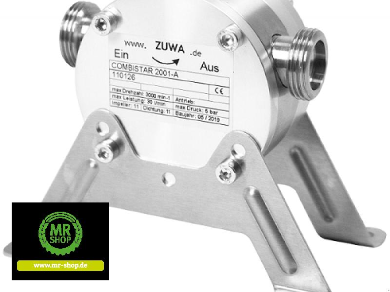 Tankanlage a típus Zuwa COMBISTAR 2001-A, ohne Antrieb, Impeller Perbunan®, Neumaschine ekkor: Saerbeck (Kép 1)