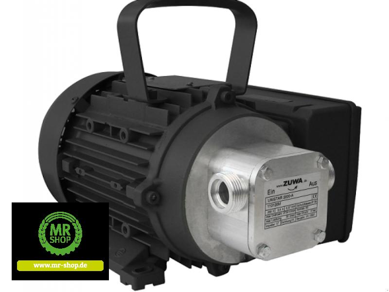 Tankanlage a típus Zuwa Impellerpumpe UNISTAR 2000-A 1.400 min-1, 230 V mit Motor, direkt angeflanscht, Neumaschine ekkor: Saerbeck (Kép 1)