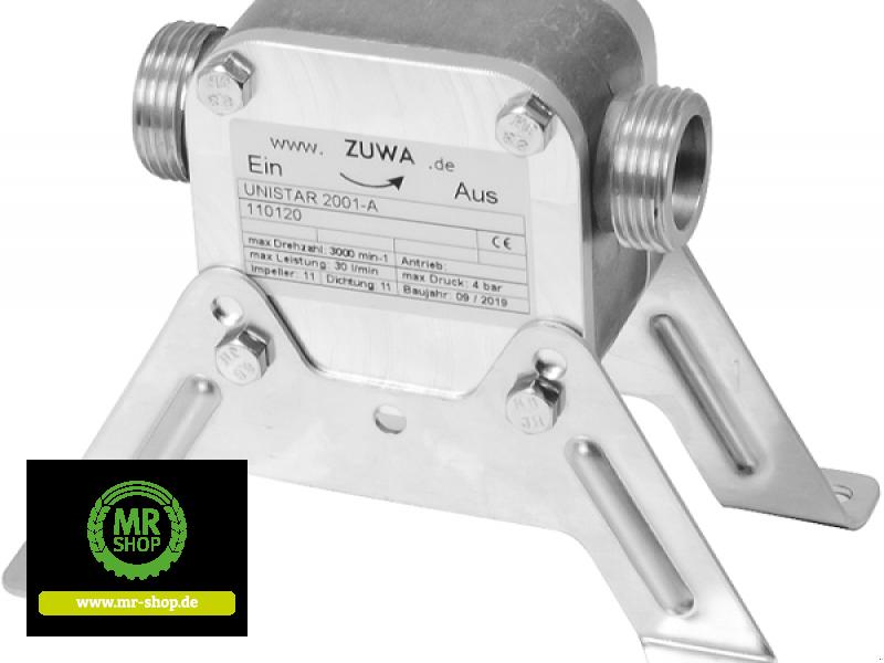 Tankanlage a típus Zuwa Impellerpumpen UNISTAR 2001-A ohne Antrieb, Neumaschine ekkor: Saerbeck (Kép 1)